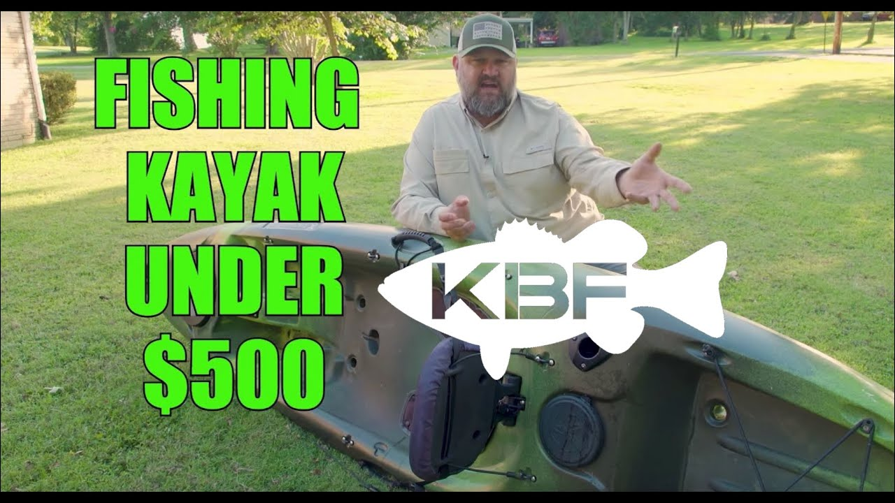 Best Fishing Kayak Under 500 Perception Pescador 10 Kayak Bass
