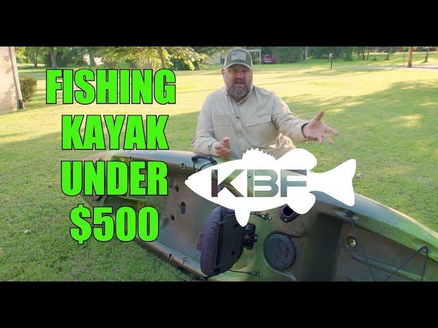 BEST FISHING KAYAK Under $500 | Perception Pescador 10 | Kayak Bass Fishing