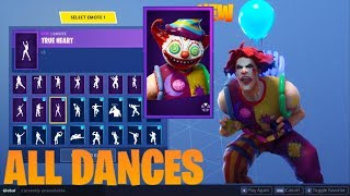 FORTNITE *NEW* [NITE NITE] SKIN DANCE COLLECTION SHOWCASE (Update 5.41 Leaks)