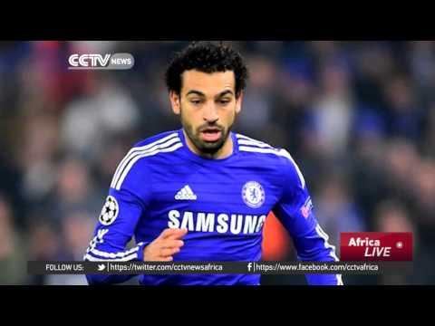 Egyptian Football Fans Support AS Roma's Mohamed Salah