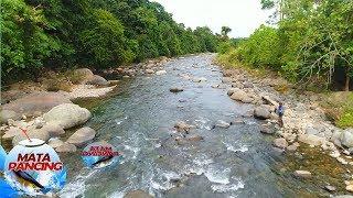 Melempar Umpan di Arus yg Agak Deras langsung Strike Ikan Gariang - Mata Pancing (24/2)