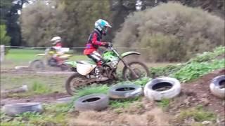 KX80 Track Day At Meredith Dirt Bike Club