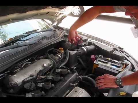 2002 Nissan Altima Misfire Start P0507 Bad IDLE part1 - YouTube