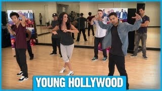 Freestyling with Josh Peck & 'Battle of the Year' Crew