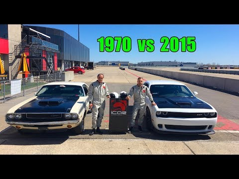Nick Takes His Challengers To Race Track - Old School vs New School