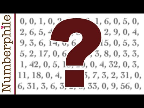 Don't Know (the Van Eck Sequence) - Numberphile