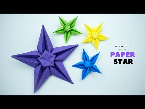 Paper Star - How To Make Paper Star - DIY