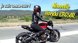 La meilleure moto A2 ? Honda CB650R - Une tuerie !