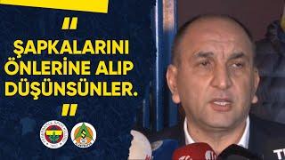Başkan Vekilimiz Semih Özsoy: Şapkalarını Önlerine Alıp Düşünsünler!