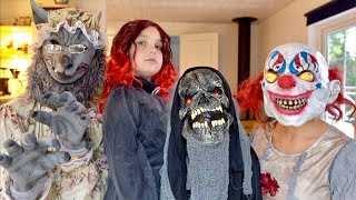HALLOWEEN Best costumes & Scary props