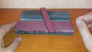 Точильный камень Рубин #3000 Китай 200/50/25. Выравнивание и доводка