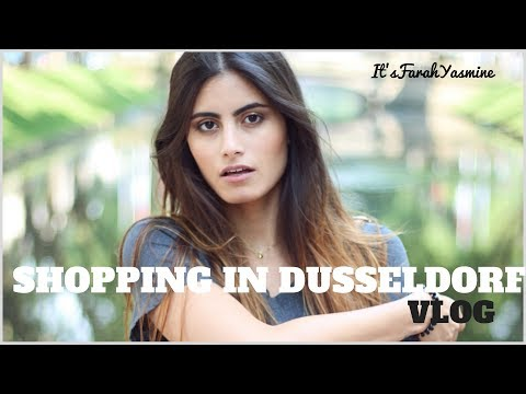 SHOPPING DAY IN DUSSELDORF I VLOG - Itsfarahyasmine