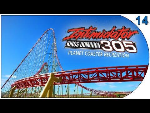 Planet Coaster - Recreations 14 - Intimidator 305 - Kings Dominion - USA