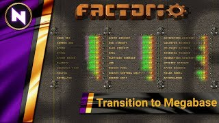 Step-by-Step Transition to Megabase - Factorio Engineering