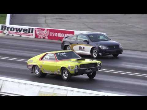 Super Stock and Hemi Shootout Day 1 Us Nationals 2016
