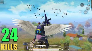 HOW TO FLY IN PUBG MOBILE   PRESIDENT   24 KILLS