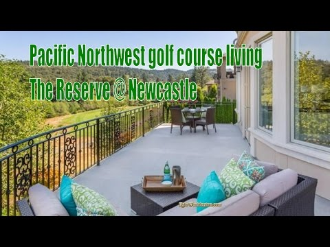 Real Estate in Newcastle, Washington - The Reserve @ Newcastle golf course