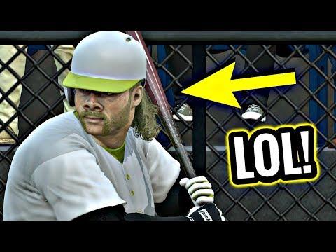 LOOK AT HIS DIAMOND DYNASTY PLAYER!! MLB THE SHOW 17 DIAMOND DYNASTY