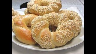 Turkish Simit الكعك الطري الهش على الطريقة التركية خفيف كالقطن يستحق التجربة