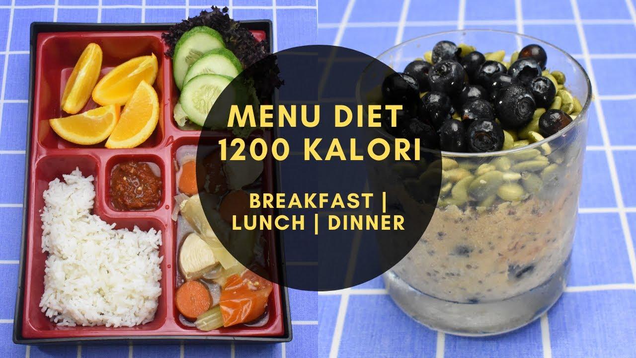 MENU DIET BREAKFAST LUNCH DINNER - HARI 1