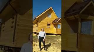 Отзыв по строительству дома из профилированного бруса размером 6х8м.