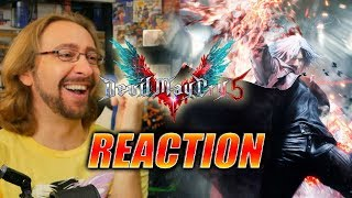 MAX REACTS: Dante Gameplay Reveal - DEVIL MAY CRY 5