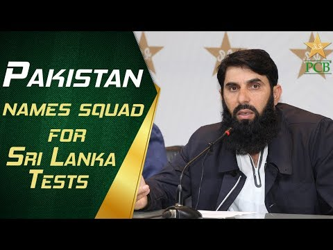 Pakistan names squad for Sri Lanka Tests | PCB