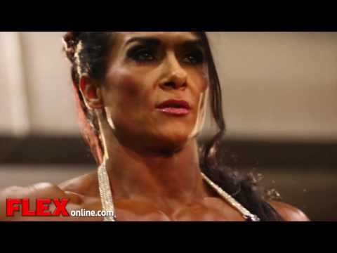 2014 Olympia Pump Up Room  Women's Bodybuilding!