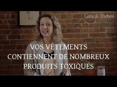 Vos vêtements contiennent de nombreux produits toxiques