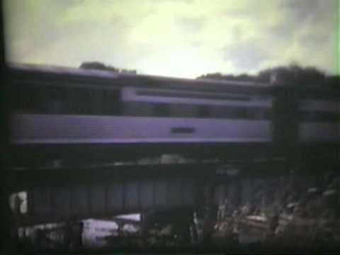 SEABOARD COAST LINE,  SCL,  1971 OKEECHOBEE SWING BRIDGE