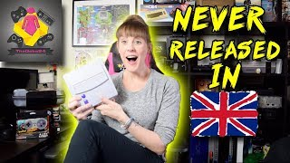 NEW SNES Junior NEVER RELEASED IN EUROPE | New Snes Console and NTSC SNES MINI | TheGebs24
