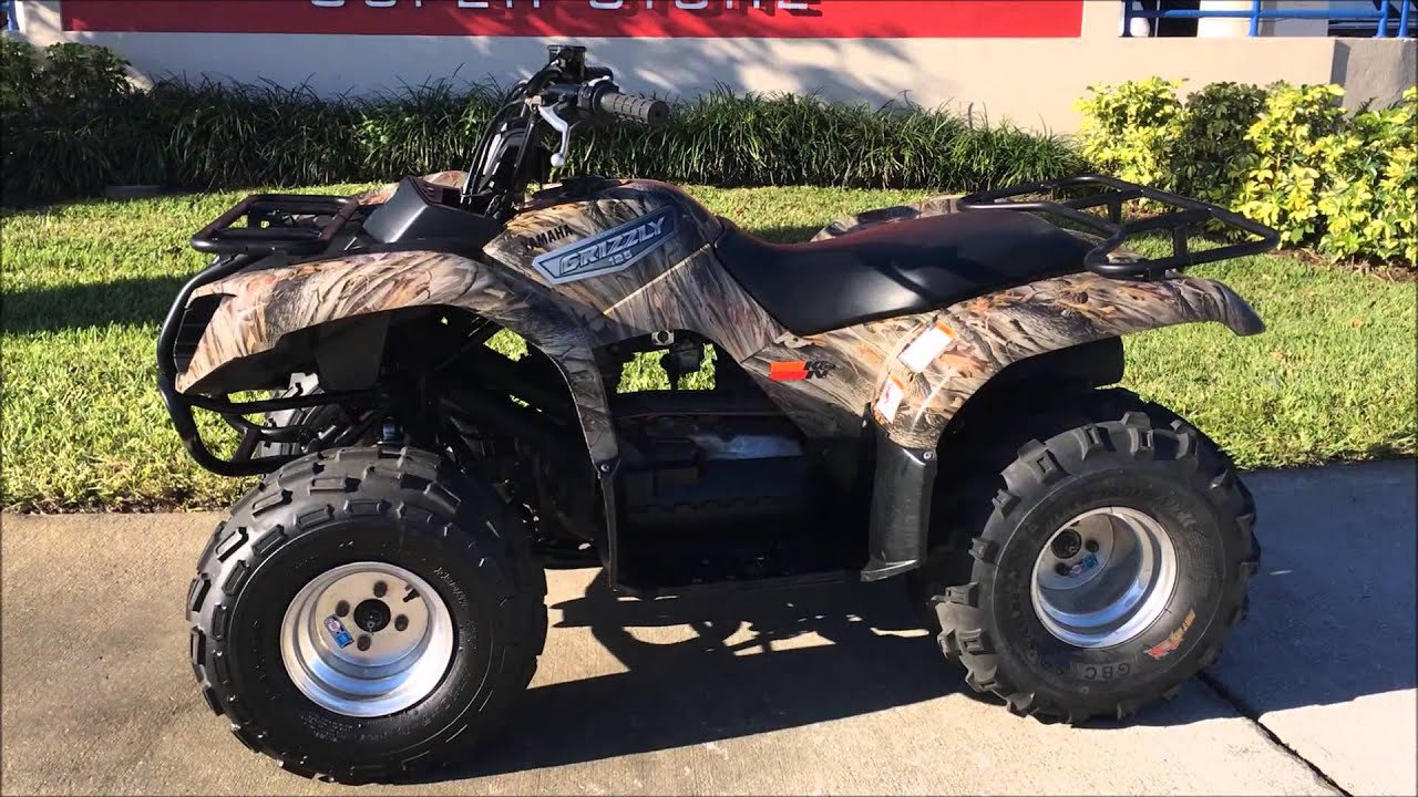 2007 Yamaha Grizzly 125 - --------- - YouTube