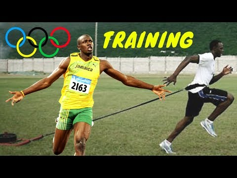 USAIN BOLT Hard Training For Olympic Games - Running Motivational Video 2018