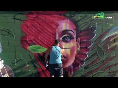 Este sábado llega a Gines la octava edición del Encuentro de Grafiteros Homenaje a BECE