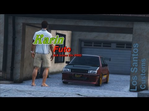 Car Showcase: Karin Futo JDM【 Rockstar Editor】**Toyota AE86** Car Tuning Movie ►StanceWorks◄