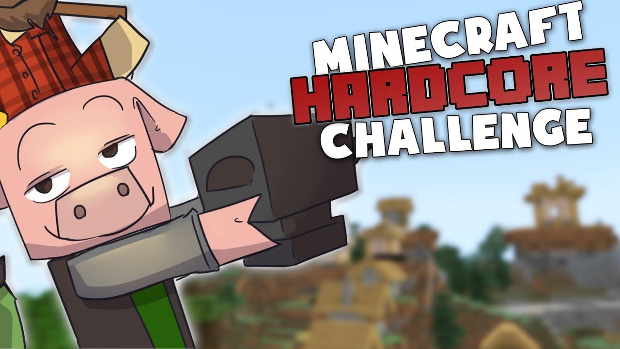 Scoring the kills! - Minecraft Hardcore Challenge w. DadCraft73 and ThePigglesworth! #3