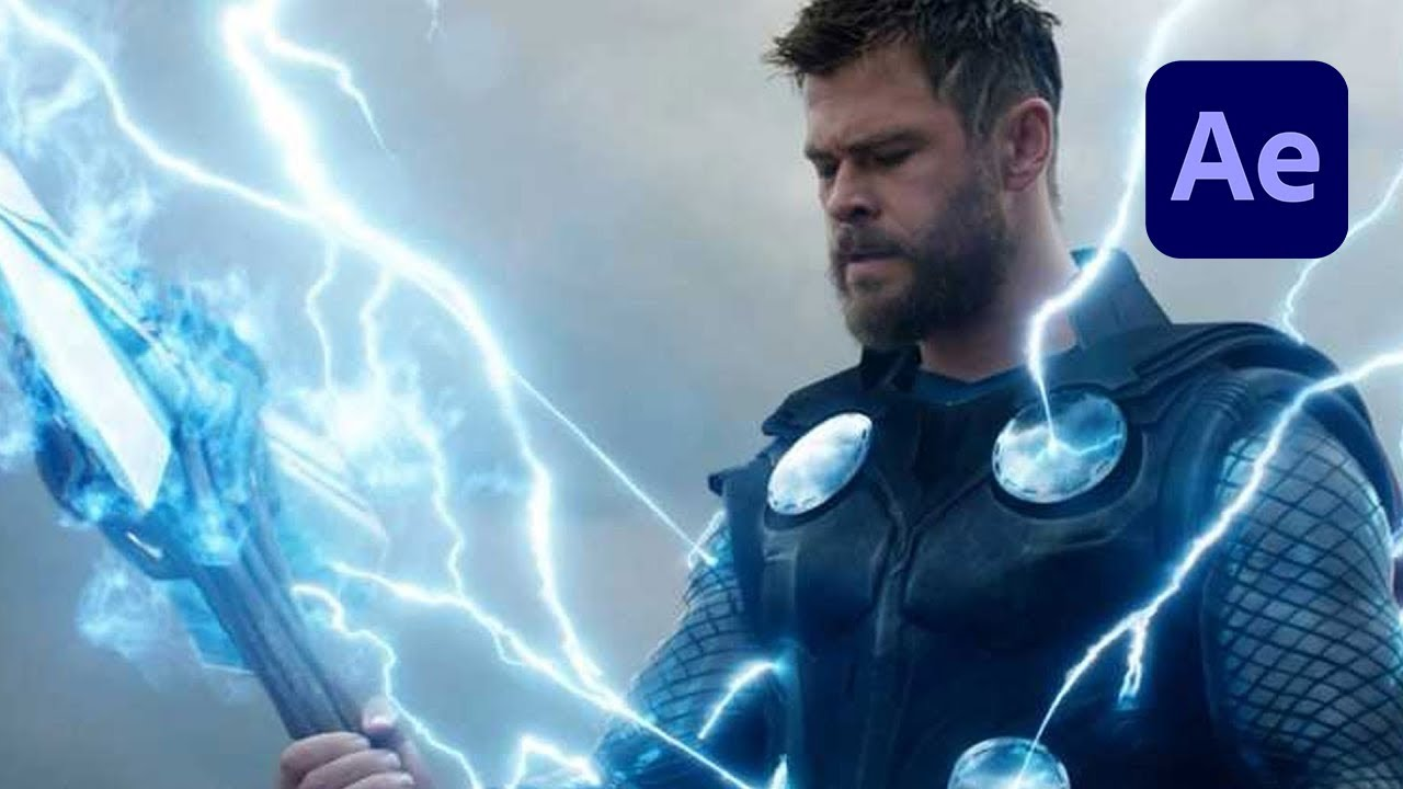 Download Thor Bifrost Teleportation Effect in After Effects Tutorial