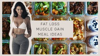 MEAL PREP WITH ME - Easy u0026 Fast - High Protein Meals for Fat Loss