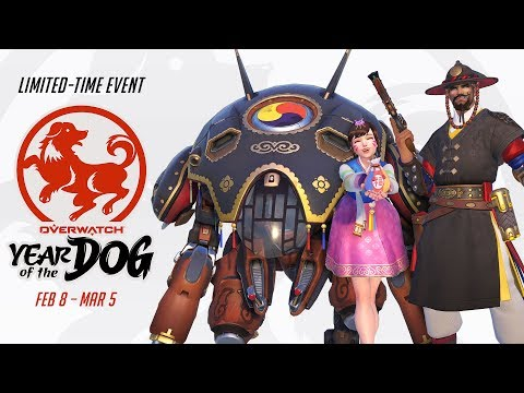 Overwatch Seasonal Event | Lunar New Year 2018