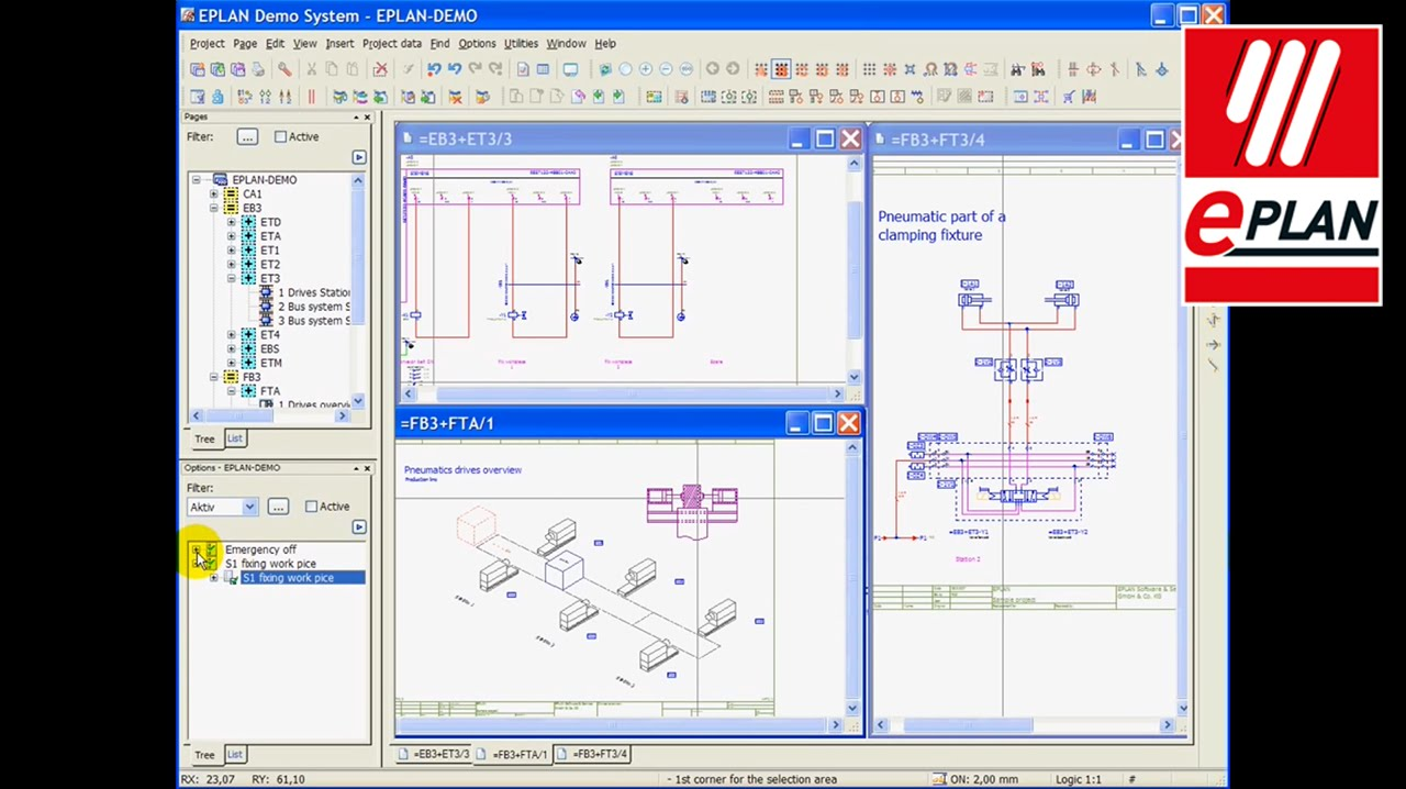 Tutorial EPLAN Electric P8  Project options  YouTube