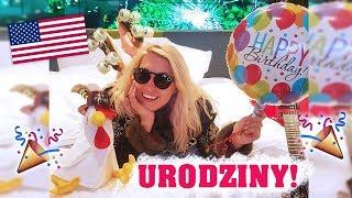 🎉Moje urodziny w USA! Poznałam gwiazdę i jadłam darmowe żarcie 😂| Agnieszka Grzelak Vlog