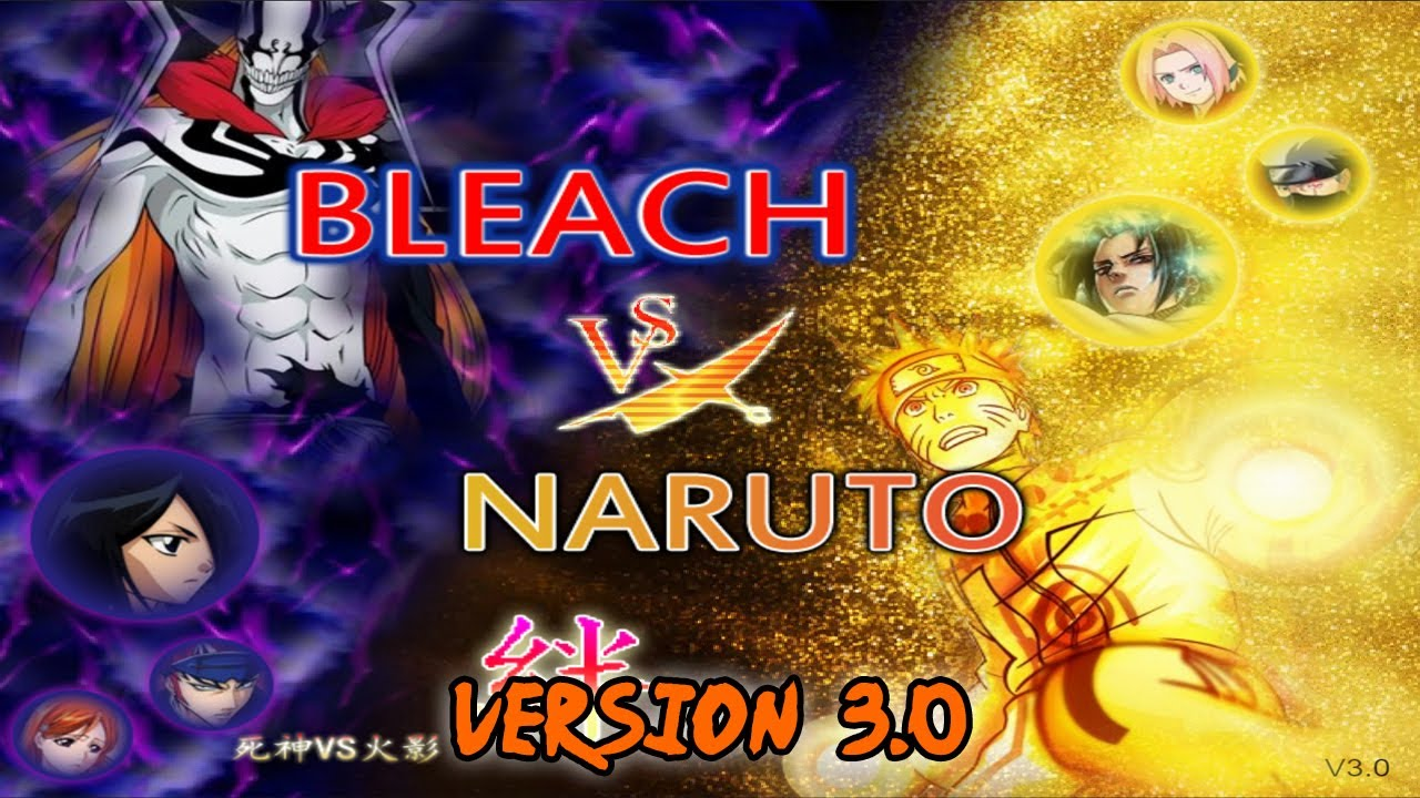Bleach vs Naruto v3 - New design, characters, maps & more!