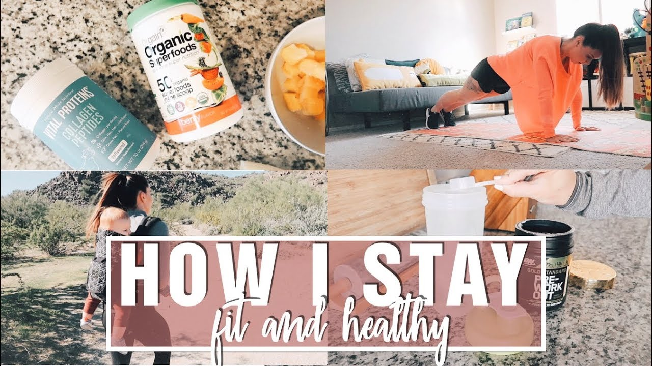 How I Live a Healthy Lifestyle as a Mom   What I Eat, Workouts, Supplements