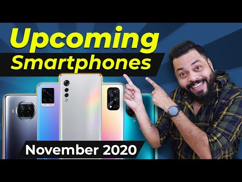 Top 10+ Best Upcoming Mobile Phone Launches ⚡ November 2020