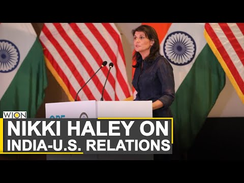 Nikki Haley: India and US have strong relations | World News | WION News thumbnail