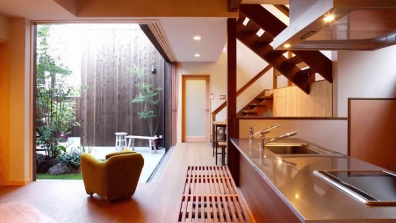 Interior Design Japanese Style modern kitchen interior design - japanese style - youtube