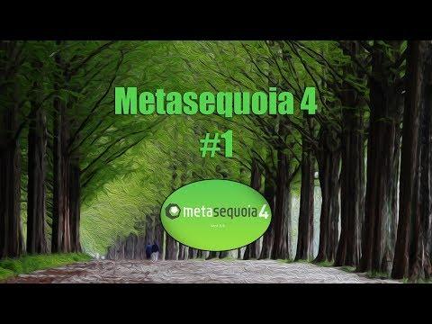 Metasequoia 4 || #1 - Основы основ