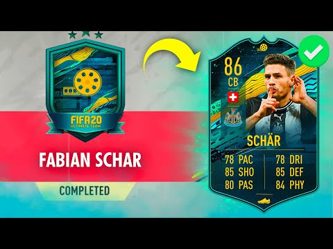 86 'PLAYER MOMENTS' FABIAN SCHAR SBC CHEAPEST SOLUTION - #FIFA20 86 Fabian Schar Player Moments