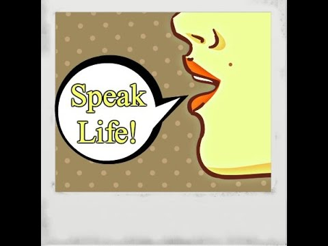 Speaking & Thinking Your Life Into Existence! (Law Of Attraction)