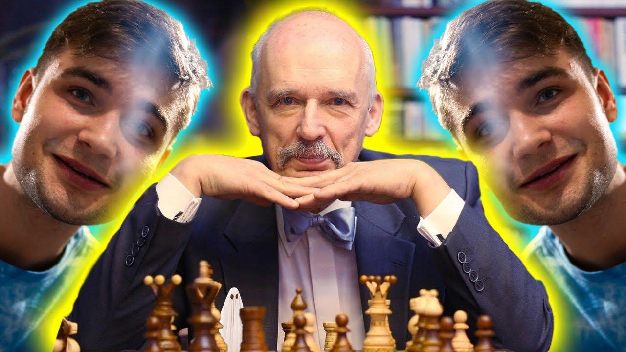 gram w szachy z Januszem Korwin-Mikke